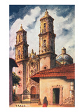 Cathedral in Taxco, Mexico Prints