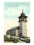 Gosport Church, Isle of Shoals, New Hampshire Prints