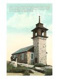 Gosport Church, Isle of Shoals, New Hampshire Prints