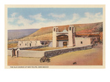 Old Church, San Felipe Pueblo, New Mexico Prints