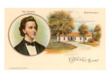 Friedrich Chopin and Birthplace Poster