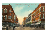Seventh Street, St. Paul, Minnesota Prints