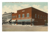 Downtown Superior, Nebraska Prints