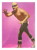 Mexican Wrestler Ready for Take-Down Prints