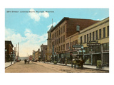 28th Street, Billings, Montana Poster
