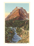 Going-to-the-Sun Mountain, Glacier Park, Montana Poster