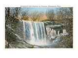 Minnehaha Falls, Minneapolis, Minnesota Prints