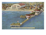 Pier and Convention Hall, Atlantic City, New Jersey Art