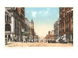 16th Street, Omaha, Nebraska Print