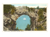 Arch Rock, Mackinac Island, Michigan Posters
