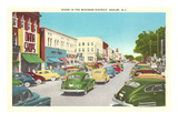 Business District, Shelby, North Carolina Art