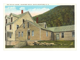 Old Willey House, White Mountains, New Hampshire Prints