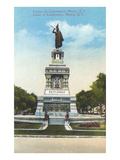 Statue of Cuauhtemoc, Mexico City Prints
