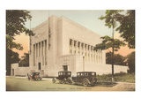 Masonic Temple, Ann Arbor, Michigan Print