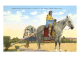 Travois, Crow Indian Fair, Montana Prints