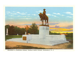 Nathaniel Greene Monument, Greensboro, North Carolina Prints