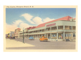 Casino, Hampton Beach, New Hampshire Print