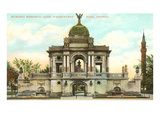 Hurlbut Memorial Gate, Detroit, Michigan Prints