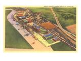 Aerial View, Lambert Field, St. Louis, Missouri Prints