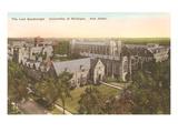 Law Quadrangle, University, Ann Arbor, Michigan Prints