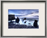Cleaving the Earth Framed Photographic Print by Trey Ratcliff