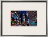 Times Square at Dusk Framed Photographic Print by Trey Ratcliff