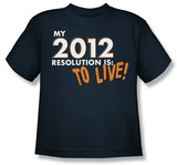 Youth: To Live! Shirts