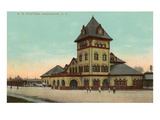 Railroad Station, Manchester, New Hampshire Art
