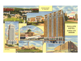 Views of Kansas City, Missouri, Phillips Hotel Poster