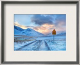 Don't Worry Mom – The Roads in Iceland Aren't That Bad Framed Photographic Print by Trey Ratcliff