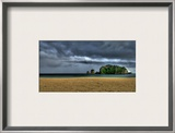 The Blue Before the Storm Framed Photographic Print by Trey Ratcliff