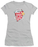 Juniors: End of the World Sale T-Shirt