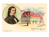 Robert Schumann and Birthplace Print