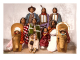 Ute Indians, Chief Sevara and Family Print