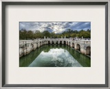 Roman Baths in Nimes Framed Photographic Print by Trey Ratcliff
