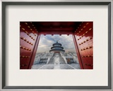Gateway to the Temple of Heaven Framed Photographic Print by Trey Ratcliff