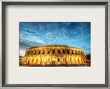 The Roman Gladiators of Gaul Framed Photographic Print by Trey Ratcliff