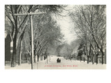 Snowy Morning, Red Wing, Minnesota Posters
