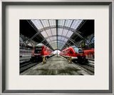The Gestalt of Coming and Going Framed Photographic Print by Trey Ratcliff