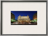 Arriving at the Grand Opera House Framed Photographic Print by Trey Ratcliff