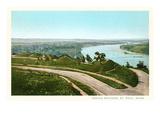 Indian Mounds, St. Paul, Minnesota Poster