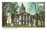 State Capitol, Concord, New Hampshire Print