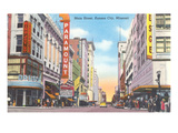 Main Street, Kansas City, Missouri Posters