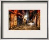 The Endless Alley Framed Photographic Print by Trey Ratcliff