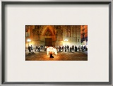 Ensnared in Flame Framed Photographic Print by Trey Ratcliff