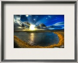 The Trouble with Iceland is That There is None Framed Photographic Print by Trey Ratcliff