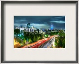 The Lights of Japan Framed Photographic Print by Trey Ratcliff
