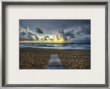The Lonely but Beautiful Path Framed Photographic Print by Trey Ratcliff