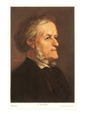Portrait of Wagner Posters