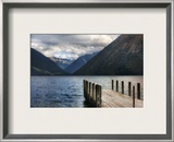 The Dock to Forever Framed Photographic Print by Trey Ratcliff